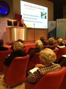 Anhörigkonferens november 2012